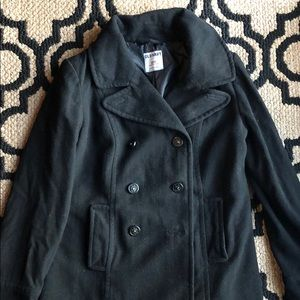 🖤Old Navy black pea coat SM